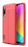 Dafoni Liquid Shield Premium Xiaomi Mi 9 Lite Kırmızı Silikon Kılıf