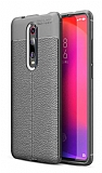 Dafoni Liquid Shield Premium Xiaomi Mi 9T Gri Silikon Kılıf