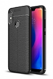 Dafoni Liquid Shield Premium Xiaomi Mi A2 Lite Siyah Silikon Kılıf
