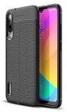 Dafoni Liquid Shield Premium Xiaomi Mi A3 Siyah Silikon Kılıf