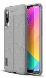 Dafoni Liquid Shield Premium Xiaomi Mi A3 Gri Silikon Kılıf