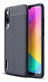 Dafoni Liquid Shield Premium Xiaomi Mi A3 Lacivert Silikon Kılıf