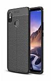 Dafoni Liquid Shield Premium Xiaomi Mi Max 3 Siyah Silikon Kılıf