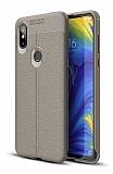 Dafoni Liquid Shield Premium Xiaomi Mi Mix 3 Gri Silikon Kılıf