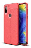 Dafoni Liquid Shield Premium Xiaomi Mi Mix 3 Kırmızı Silikon Kılıf