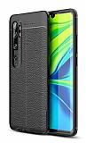 Dafoni Liquid Shield Premium Xiaomi Mi Note 10 Pro Siyah Silikon Kılıf