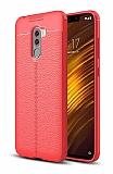 Dafoni Liquid Shield Premium Xiaomi Pocophone F1 Kırmızı Silikon Kılıf