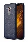 Dafoni Liquid Shield Premium Xiaomi Pocophone F1 Lacivert Silikon Kılıf