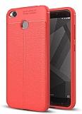 Dafoni Liquid Shield Premium Xiaomi Redmi 4X Kırmızı Silikon Kılıf