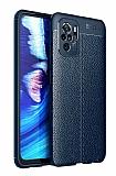 Dafoni Liquid Shield Premium Xiaomi Redmi Note 10S Lacivert Silikon Kılıf