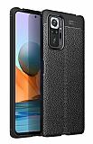Dafoni Liquid Shield Premium Xiaomi Redmi Note 10 Pro Siyah Silikon Kılıf