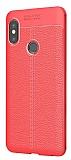 Dafoni Liquid Shield Premium Xiaomi Redmi Note 5 Pro Kırmızı Silikon Kılıf