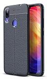 Dafoni Liquid Shield Premium Xiaomi Redmi Note 7 / Note 7 Pro Lacivert Silikon Kılıf