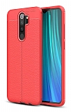 Dafoni Liquid Shield Premium Xiaomi Redmi Note 8 Pro Kırmızı Silikon Kılıf
