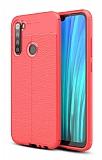 Dafoni Liquid Shield Premium Xiaomi Redmi Note 8 Kırmızı Silikon Kılıf