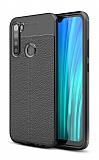 Dafoni Liquid Shield Premium Xiaomi Redmi Note 8 Siyah Silikon Kılıf