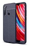 Dafoni Liquid Shield Premium Xiaomi Redmi Note 8T Lacivert Silikon Kılıf