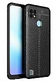 Dafoni Liquid Shield Realme C21 Ultra Koruma Siyah Silikon Kılıf