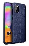 Dafoni Liquid Shield Samsung Galaxy A02S Ultra Koruma Lacivert Kılıf