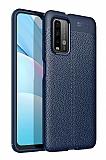 Dafoni Liquid Shield Xiaomi Redmi Note 9 4G Ultra Koruma Lacivert Kılıf