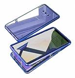 Dafoni Magnet Glass Samsung Galaxy Note 9 360 Derece Koruma Cam Lacivert Kılıf