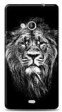 Microsoft Lumia 535 Black Lion Kılıf