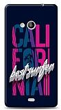 Microsoft Lumia 535 California Surfer Kılıf