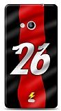 Microsoft Lumia 535 Kırmızı Şimşekler Kılıf