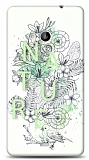 Dafoni Microsoft Lumia 535 Nature Flower Kılıf