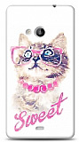 Microsoft Lumia 535 Sweet Cat Kılıf