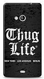 Dafoni Microsoft Lumia 535 Thug Life 3 Kılıf