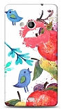 Dafoni Microsoft Lumia 535 Water Color Kiss K�l�f