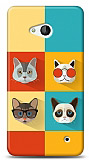 Microsoft Lumia 640 Four Cats Kılıf