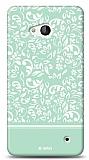 Microsoft Lumia 640 Green Flower Kılıf