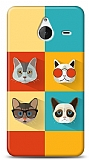 Microsoft Lumia 640 XL Four Cats Kılıf