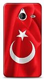 Dafoni Microsoft Lumia 640 XL T�rk Bayra�� K�l�f