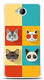 Microsoft Lumia 650 Four Cats Kılıf