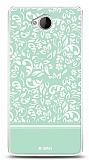 Microsoft Lumia 650 Green Flower Kılıf