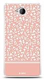 Dafoni Microsoft Lumia 650 Pink Flower Kılıf