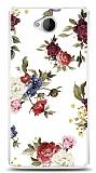 Dafoni Microsoft Lumia 650 Vintage Flowers Kılıf