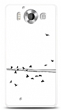 Microsoft Lumia 950 Flying Birds Kılıf