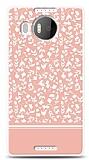 Microsoft Lumia 950 XL Pink Flower Kılıf