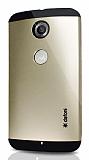Dafoni Motorola Nexus 6 Slim Power Gold Kılıf