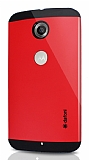 Dafoni Motorola Nexus 6 Slim Power Kırmızı Kılıf