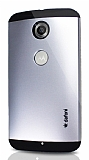 Dafoni Motorola Nexus 6 Slim Power Silver Kılıf