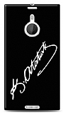 Dafoni Nokia Lumia 1520 Atat�rk �mza Siyah K�l�f