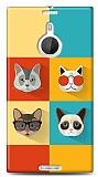 Dafoni Nokia Lumia 1520 Four Cats K�l�f
