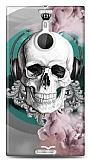 Dafoni Nokia Lumia 1520 Lovely Skull K�l�f