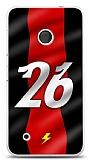Dafoni Nokia Lumia 530 Kırmızı Şimşekler Kılıf