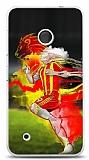 Dafoni Nokia Lumia 530 Sarı Kırmızı Kılıf